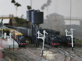 Model rail of Valley Heights